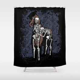 Anatomy of a Fake Horse Shower Curtain