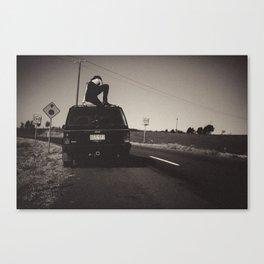 On yer truck Canvas Print