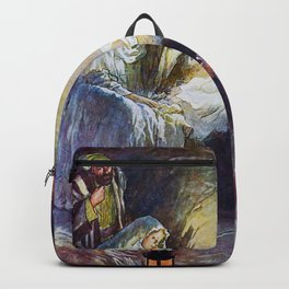 Birth of Jesus Backpack