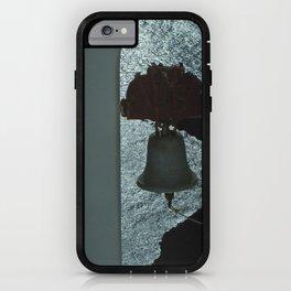 Bell over Santorini iPhone Case