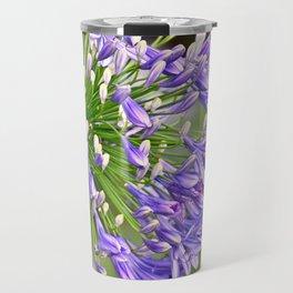 Agapanthus (African Lily) Travel Mug