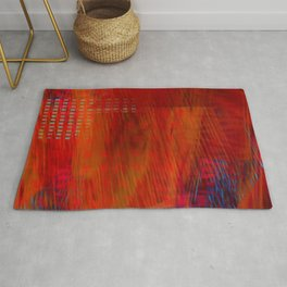 Burning Down the House Rug