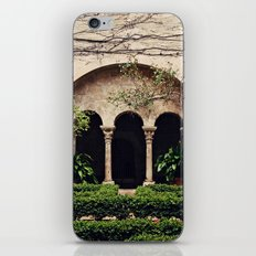 Van Gogh's Courtyard in St Remy iPhone & iPod Skin