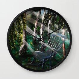 Final Resting Wall Clock