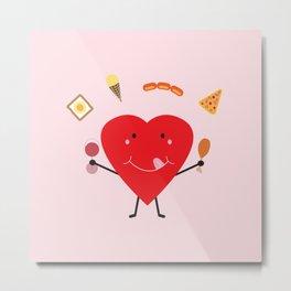 Hungry Heart Metal Print
