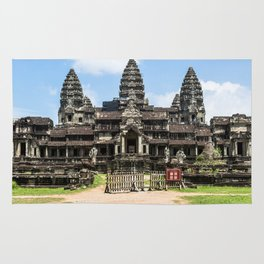 Angkor Wat East Entrance, Cambodia Rug