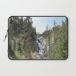 Yellowstone Waterfall Laptop Sleeve