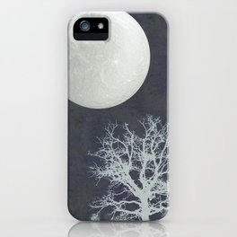 With that Moon Language iPhone Case