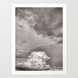 Cumulonimbus Art Print