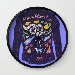 Jacket Wall Clock