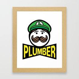 Plumber Potato Chips Framed Art Print