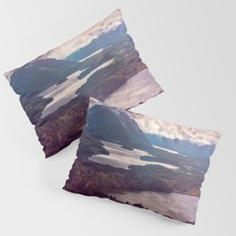 Lake in the mountains Pillow Sham