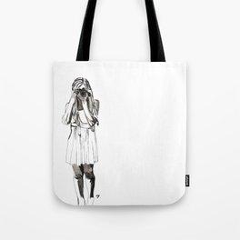 Photography Girl Tote Bag