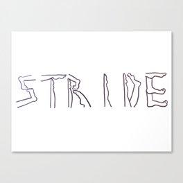 """Stride"" Canvas Print"