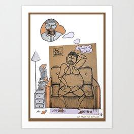 'La conjura de los necios' de J. K. Toole Art Print