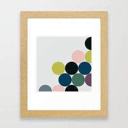 cluster    chill Framed Art Print