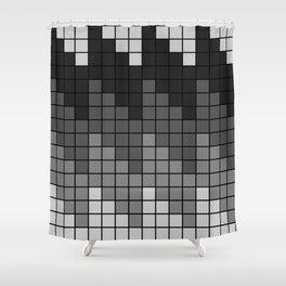 KALAIDASCOPE GREY Shower Curtain