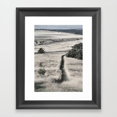 The Lonely Path Framed Art Print