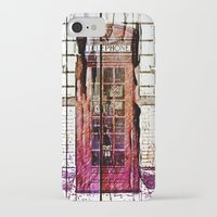 telephone iPhone & iPod Cases featuring Telephone by Del Vecchio Art by Aureo Del Vecchio