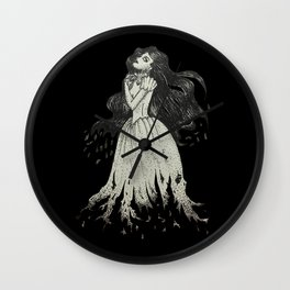 Earthly Spirit Wall Clock