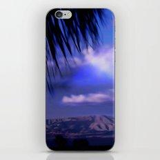 SUNDOWN IN PALM SPRINGS iPhone & iPod Skin