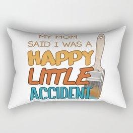Happy Little Accident Rectangular Pillow