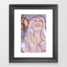 DESPAIR Framed Art Print