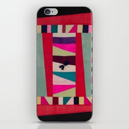 Collage of cloth iPhone Skin
