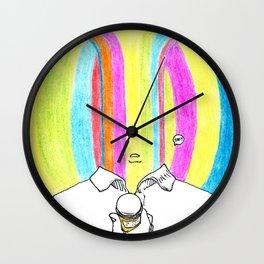 Pocket Shamans Wall Clock