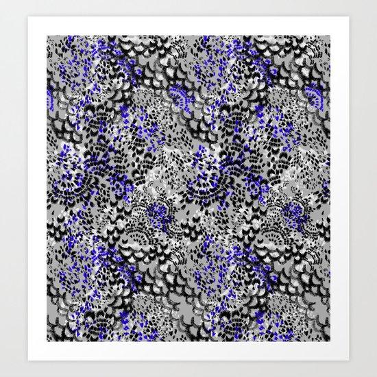 Texture Effect Art Print