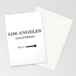 Los Angeles - California Stationery Cards