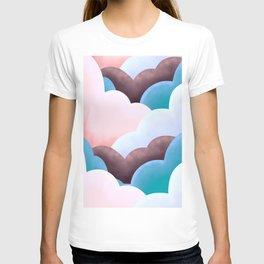 Marshmallow clouds  T-shirt
