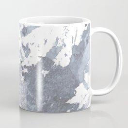 Indigo Paint Splatter Two Coffee Mug