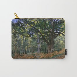 Claude Monet - The Bodmer Oak, Fontainebleau Forest Carry-All Pouch