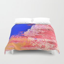 Into the Mist Pantone Color of the Year 2016 Abstract Duvet Cover