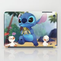 lilo and stitch iPad Cases featuring Stitch by beastace