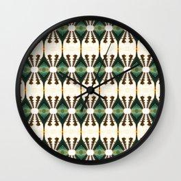 Lamp Posts Reflection Wall Clock