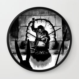 The Forge of Salamadastron Wall Clock