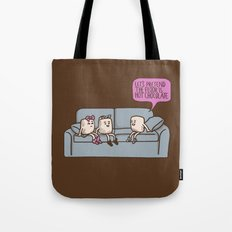 The Floor is Hot Chocolate! Tote Bag