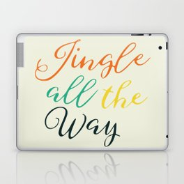 Jingle all the way Laptop & iPad Skin