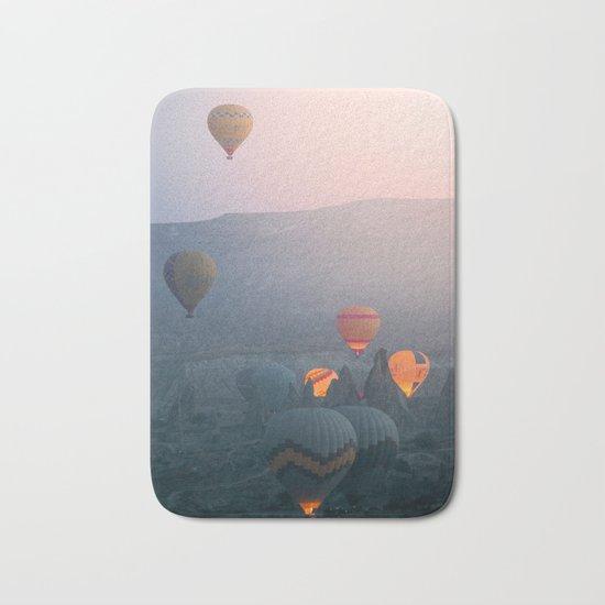 Balloons over Cappadocia Bath Mat