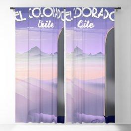 El Colorado Chile Blackout Curtain