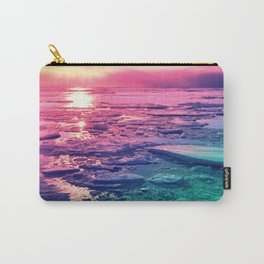 Pastel Sunset Waters Carry-All Pouch