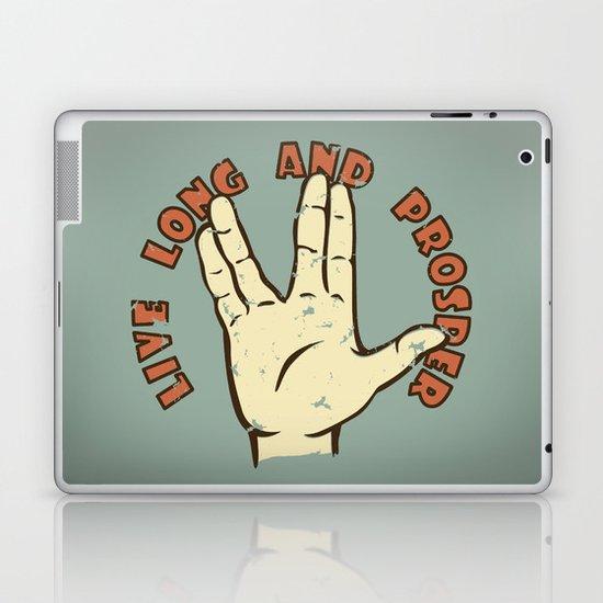 LIVE LONG AND PROSPER! - Star Trek Laptop & iPad Skin
