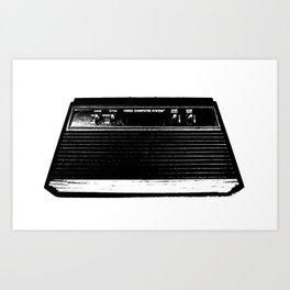 Old Video Game Art Print