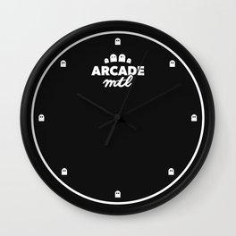 Arcade MTL Wall Clock