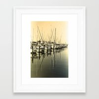 nautical Framed Art Prints featuring Nautical  by Devin Stout