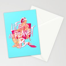 Life on Planet B Stationery Cards