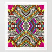 gypsy Art Prints featuring Gypsy by Kimberly McGuiness