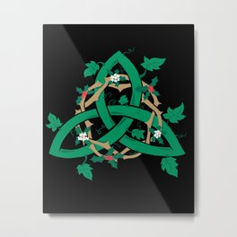 The Holly And The Ivy Metal Print